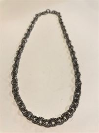 Southwestern Sterling Necklace/ Chain
