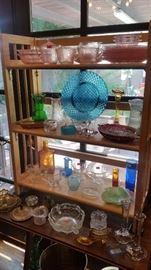 Vintage & antique glass.