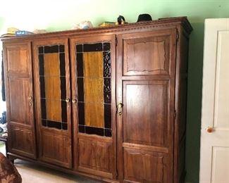 Beautiful Vintage Rosewood Wardrobe - 99x26x76