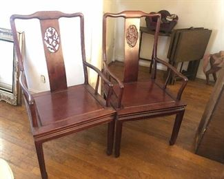 Pair of Rosewood Chair