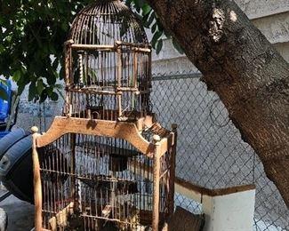 Beautiful Vintage Bird Cage