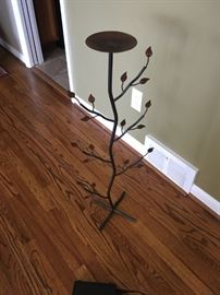 A very neat looking plant stand.
