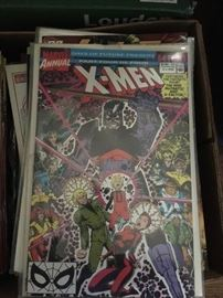 """One of dozens of """"mint"""" comic books -- buy individually or by the lot."""