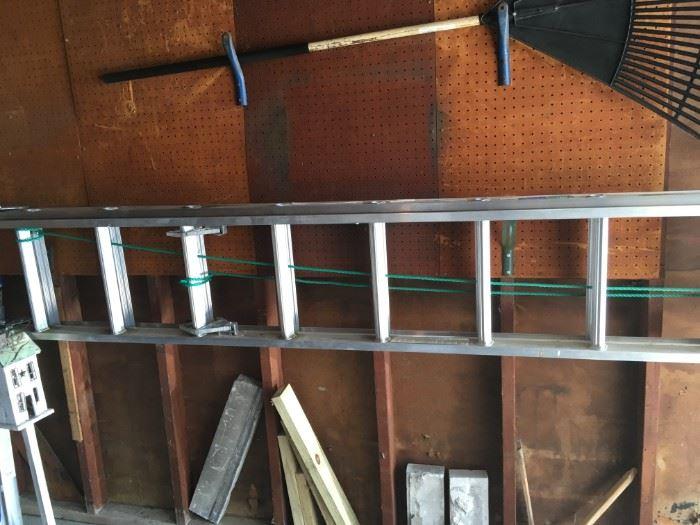 A Werner extension ladder.