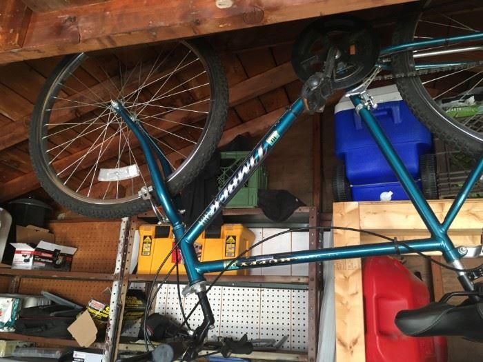 A nice mountain bike ready for some fresh air!