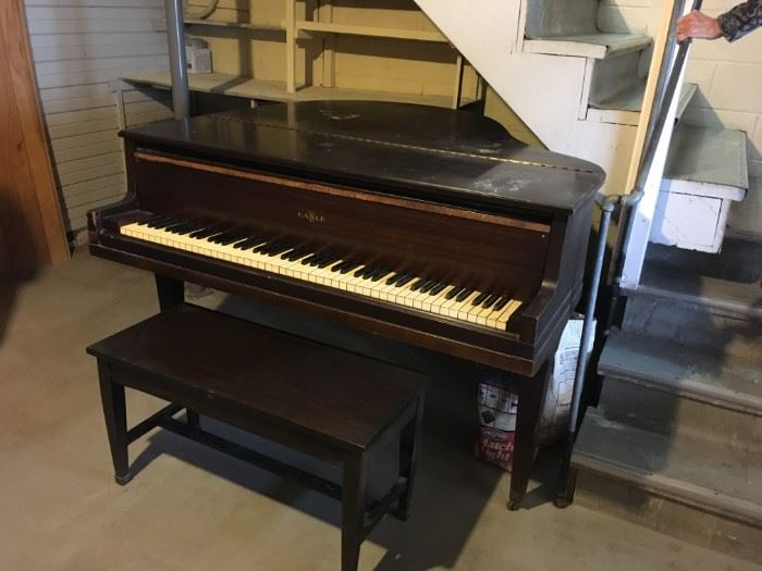 Best offer takes this Cable baby grand -- you arrange pick up and delivery.