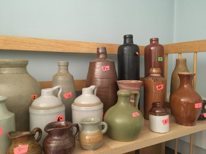 Some of the stoneware available.