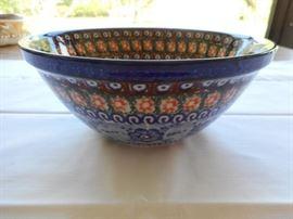 "Unikat handmade in Poland bowl 7 3/4"" https://ctbids.com/#!/description/share/133119"