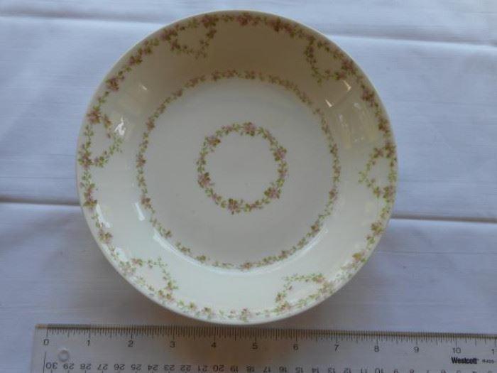 """Vintage Limoge France Wm Guerin & Co. Floral design 7 1/2"""" plate https://ctbids.com/#!/description/share/132634"""