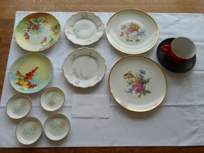 Lot of Vintage dishware from Germany - Rosenhale, Edelstein, Pasco, Bareuther & Easterling 12 pcs. https://ctbids.com/#!/description/share/132671