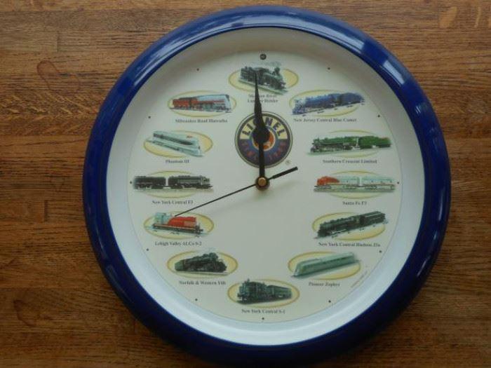 Lionel 2004 train clock - Train sounds every hour ! https://ctbids.com/#!/description/share/132510