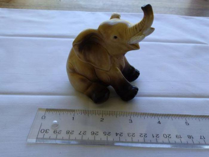 Vintage Lefton china Elephant figurine https://ctbids.com/#!/description/share/132516
