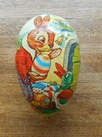 "vintage 6"" paper mache Easter Egg from Germany       https://ctbids.com/#!/description/share/132523"