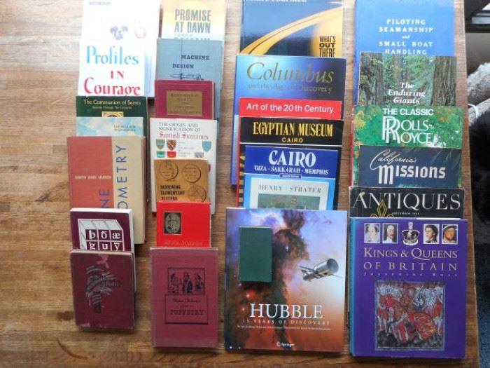 Large lot of 27 mostly vintage nonfiction books https://ctbids.com/#!/description/share/133747