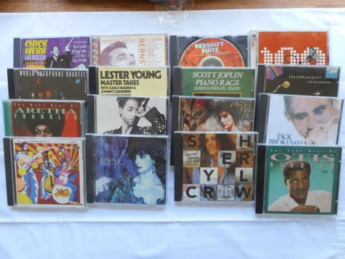 Lot of 17 CD's - Classical, Jazz, Rock and Pophttps://ctbids.com/#!/description/share/133001