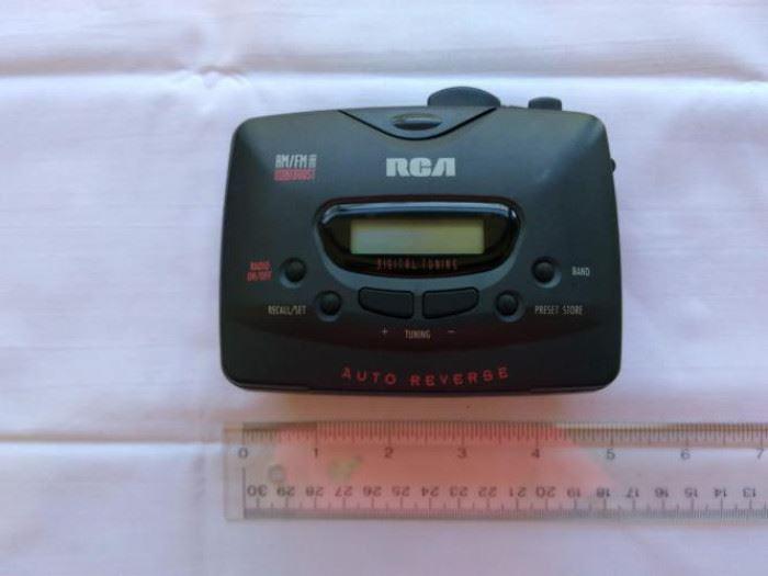 Vintage RCA Walkman RP-1880B AM/FM stereo radio & cassette player https://ctbids.com/#!/description/share/132527