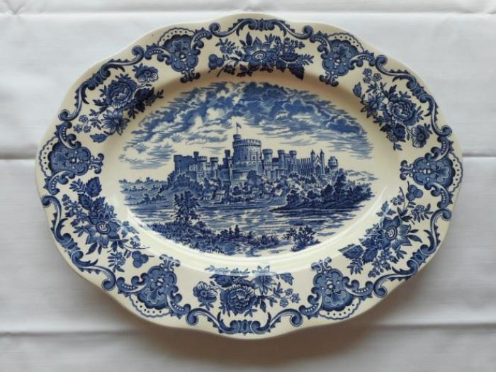 vintage Royal Homes of Britain Enoch Wedgewood plate https://ctbids.com/#!/description/share/133007