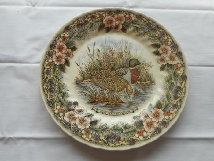 "vintage Churchill duck plate, Myatt Factory Archive Originals 10"" https://ctbids.com/#!/description/share/133021"