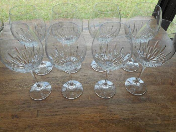 "Set of Shannon 9.5"" crystal balloon glasses https://ctbids.com/#!/description/share/132538"