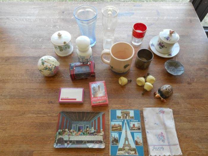 Lot of 25 MIsc VIntage items - Staffordshire, L&M and Wm Rogers https://ctbids.com/#!/description/share/133040