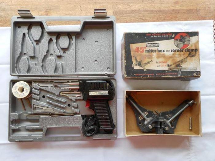 Soldering set & miter box set with corner clamp https://ctbids.com/#!/description/share/133083