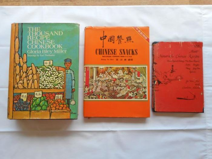 Lot of 3 vintage Chinese cookbooks from 60's & 70's https://ctbids.com/#!/description/share/133114