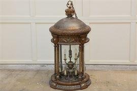 4. Monumental Italian Style Hall Lantern