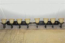 10. Pair of Coat Rack Wall Lights