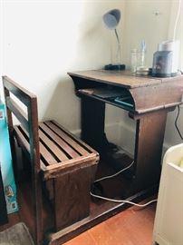 kids vintage desk