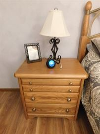side table that goes with the bed set x2