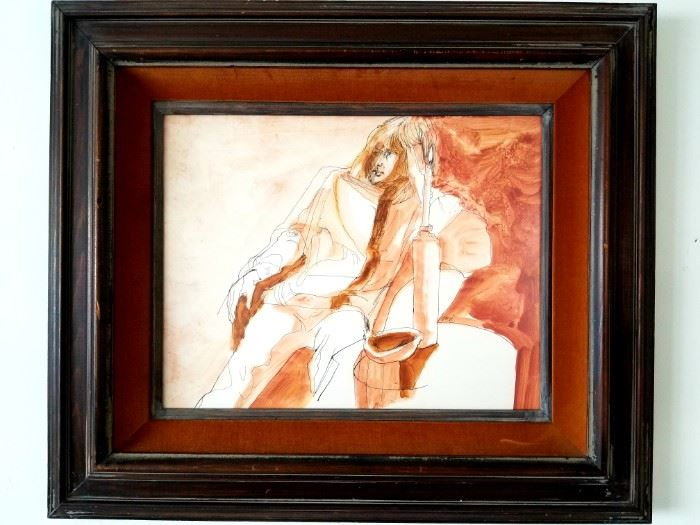 Artist: Sari Staggs Water color on paper