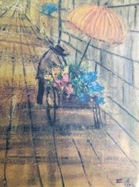 Acrylic on canvas  Artist: Etta Benjamin Cien