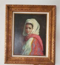 Oil painting on canvas Artist: Stephenson