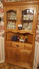 Corner cabinet by Dobbs