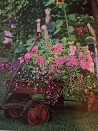 Our Old Wagons can be planted in your Yard!