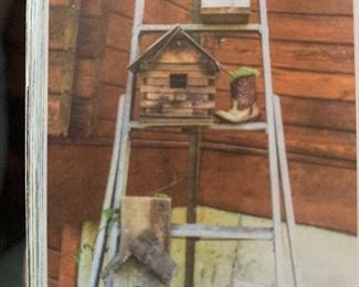 Ladders and Birdhouses are in the Barn!