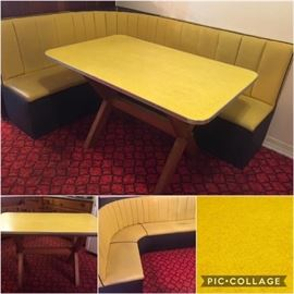 Table & Seating Booth..Good Condition
