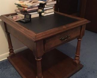 Ethan Allen Slate end table. Perfect condition.
