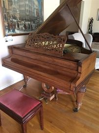 Antique Pleyel Piano (restoration needed)