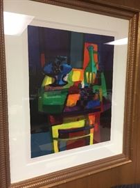 Signed and Numbered Lithograph