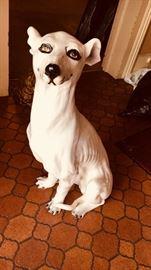 Vintage Italian Greyhound/Whippit
