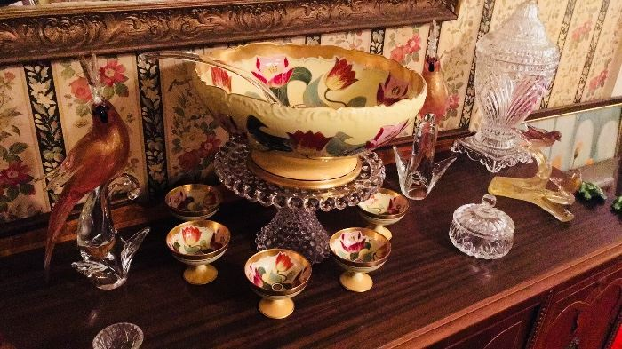 Limoges - Crystal - Vintage Murano - Formia Murano