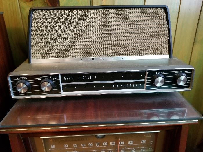 Vintage Arvin Stereo
