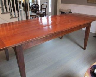 CLASSIC STYLE FRENCH FARM TABLE Circ 1900 OLD PLANK ROAD ANTIQUES