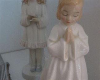 ROYAL DOULTON BEDTIME PRAYING GIRL