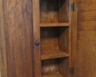 VINTAGE TWO DOOR TABLE TOP CABINET