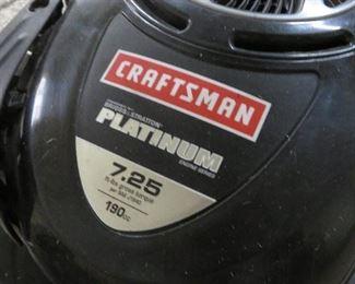CRAFTSMAN PLATINUM 7.25 LAWN MOVER