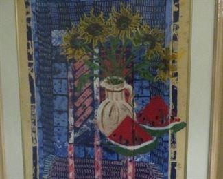 FRAMED ARTWORK LETICIA M. ARRUABARRENA