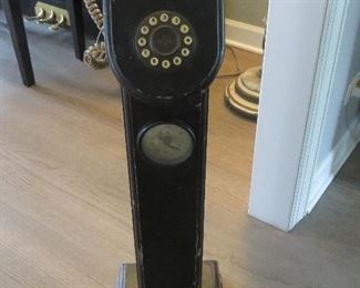 ANTIQUE TALL STANDING PHONE