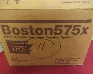 BOSTON SPEAKERS  ( NEW IN BOX) SPEAKER SYSTEM